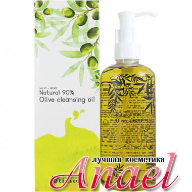 Elizavecca Очищающее гидрофильное масло с 90% маслом оливы Milky-Wear Natural 90% Olive Cleansing Oil (300 мл)