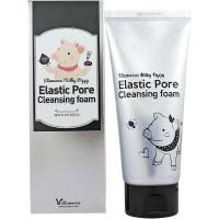 Elizavecca Угольная пенка для глубокой очистки пор Milky Piggy Elastic Pore Cleansing Foam (120 мл)