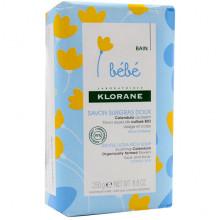Klorane Сверхпитательное экстра-мягкое детское мыло с экстрактом календулы Bebe Ultra-Rich Soap (250 гр)