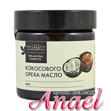MI&KO Нерафинированное масло кокосового ореха (60 мл)