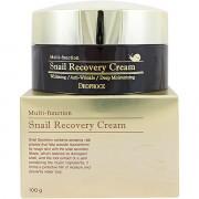Deoproce Многофункциональный крем  с фильтратом улитки Multi-function Snail Recovery Cream (100 гр)