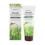 Deoproce Увлажняющий восстанавливающий крем с улиточным экстрактом для рук и ног Snail Recovery Moisture Hand & Foot Cream (100 мл)