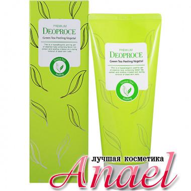 Deoproce Пилинг-гель премиум класса с экстрактом зеленого чая Premium Green Tea Peeling Vegetal (170 гр)