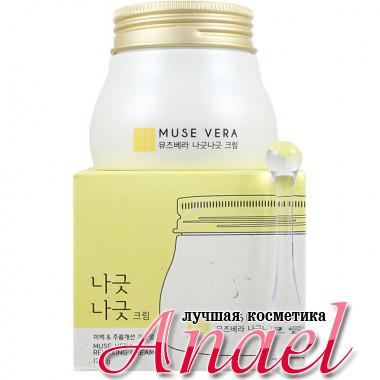 Deoproce Успокаивающий смягчающий крем с молоком и медом для лица Muse Vera Relaxing Cream (120 гр)