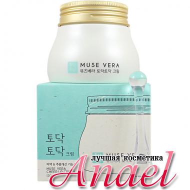 Deoproce Освежающий крем с экстрактами алоэ и чайного дерева Muse Vera Cheer Up Cream (120 гр)