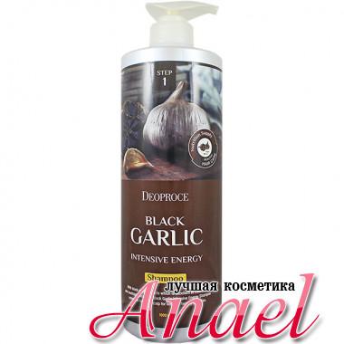 Deoproce Интенсивный энергетический шампунь «Черный чеснок» Black Garlic Intensive Energy Shampoo (1 литр)