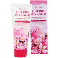 Deoproce Увлажняющий крем для рук и тела «Цветущая вишня» Cherry Blossom Lovely Moisture Hand & Body (100 мл)