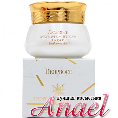 Deoproce Многофункциональный крем для лица «Паутинка» с гиалуроновой кислотой Spider Web Multi Care Cream Hyaluronic Acid (50 мл)