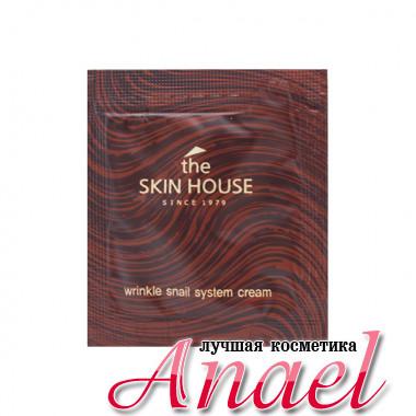 The Skin House Пробник восстанавливающего питающего крема против морщин с фильтратом улитки Wrinkle Snail System Cream