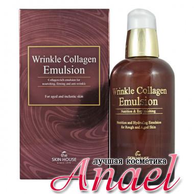 The Skin House Питательная восстанавливающая эмульсия  с коллагеном против морщин Wrinkle Collagen Emulsion (130 мл)