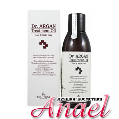 The Skin House Восстанавливающее масло «Доктор Арган» для волос и тела Dr. Argan Treatment Oil Hair & Skin Care (150 мл)