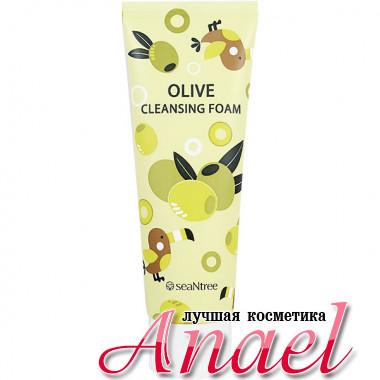 SeaNTree Пенка для умывания с оливковым маслом Olive Cleansing Foam (120 мл)