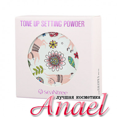 SeaNTree Рассыпчатая тонизирующая финишная пудра Tone Up Setting Powder (10 гр)