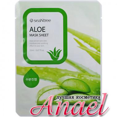 SeaNTree Тканевая маска с экстрактом алоэ Aloe Mask Sheet (1 шт)
