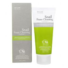 3W Clinic Очищающая пенка с улиточным муцином для жирной кожи Snail Foam Cleansing Anti-Sebum (100 мл)