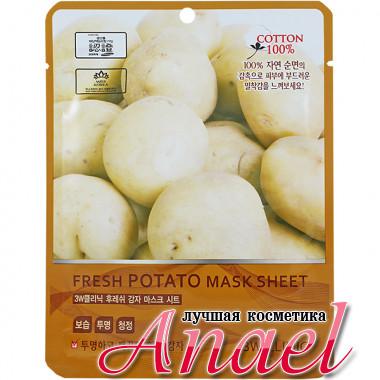 3W Clinic Тканевая маска с экстрактом картофеля Fresh Potato Mask Sheet (1 шт)