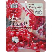 3W Clinic Тканевая маска с экстрактом граната Fresh Mask Sheet Pomegranate (1 шт)