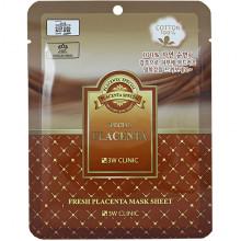 3W Clinic Плацентарная тканевая маска Special Fresh Placenta Mask Sheet (1шт)