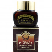 3W Clinic Антивозрастной крем премиум-класса с плацентой для лица Premium Placenta Intensive Cream (50 мл)