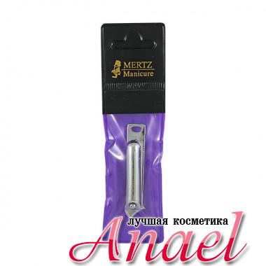 Mertz Книпсер скошенный с пилкой для ногтей 444 (1 шт)