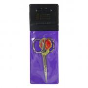 Mertz Manicure 651N Маникюрные ножницы для кожи никелированные (1 шт)