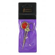 Mertz Маникюрные ножницы с выгнутыми лезвиями для кожи  623N (1 шт)