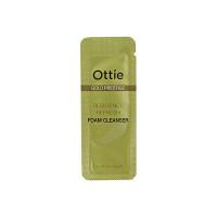 Ottie Пробник увлажняющей пенки для упругости кожи «Золотой престиж» Gold Prestige Resilience Refresh Foam Cleanser