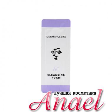 Ottie Пробник очищающей пенки с салициловой кислотой для проблемной кожи Derma-Clera AC Cleansing Foam