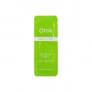 Ottie Пробник увлажняющего крема для кожи вокруг глаз с экстрактом зеленого чая Green Tea Eye Cream