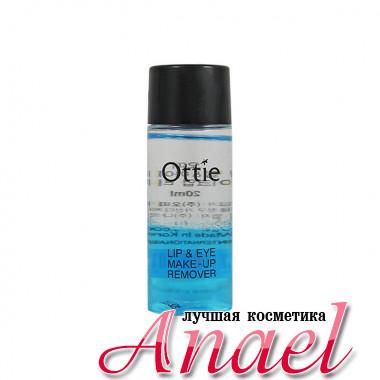 Ottie Миниатюра двухфазного средства для снятия макияжа с глаз и губ Lip & Eye Makeup Remover (20 мл)