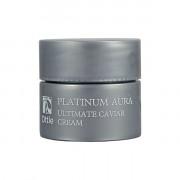 Ottie Миниатюра антивозрастного питательного крема премиум-класса для лица Platinum Aura Ultimate Caviar Cream (5 мл)