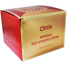 Ottie Императорский крем с экстрактом красного женьшеня и улиточным муцином Imperial Red Ginseng Cream (120 мл)