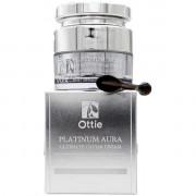 Ottie Антивозрастной питательный крем премиум-класса с коллоидной платиной для лица Platinum Aura Ultimate Caviar Cream (50 мл)