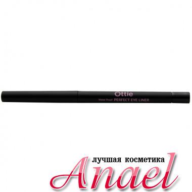 Ottie Идеальный водостойкий карандаш-подводка Тон 01 Черный Water Proof Perfect Eye Liner (0,3 гр)