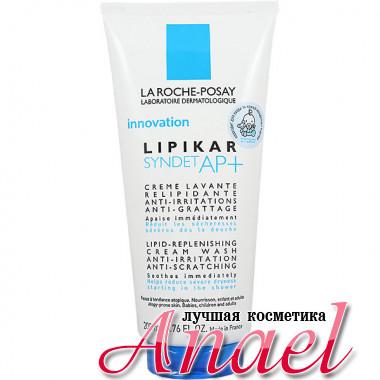 La Roche-Posay Очищающий липидовосполняющий крем Липикар Синдет для атопичной кожи Lipikar Syndet AP+ Lipid-Replenishing Cream Wash (200 мл)