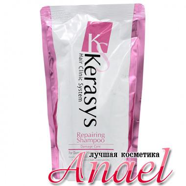KeraSys Лечебный шампунь для поврежденных волос Hair Clinic System Repairing Shampoo Damage Care (500 мл)