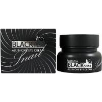Farm Stay Многофункциональный крем с муцином черной улитки для кожи вокруг глаз Black Snail All In One Eye Cream (50 мл)
