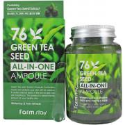 Farm Stay Многофункциональная сыворотка с зеленым чаем 76 Green Tea Seed All-in-One Ampoule (250мл)