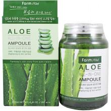 Farm Stay Многофункциональная ампульная сыворотка с экстрактом алоэ Aloe All In One Ampoule (250 мл)