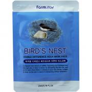 Farm Stay Увлажняющая тканевая маска «Видимая разница» с экстрактом ласточкиного гнезда Visible Difference Bird's nest Aqua Mask Pack (1 шт)