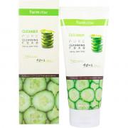 Farm Stay Пенка для умывания с экстрактом огурца Cucumber Pure Cleansing Foam (180 мл)