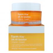 Farm Stay Отбеливающий антивозрастной крем с витаминами DR-V8 Solution Vitamin Cream (50 мл)