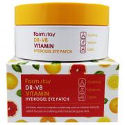 Farm Stay Гидрогелевые патчи с витаминами для кожи вокруг глаз DR-V8 Vitamin Hydrogel Eye Patch (60 шт.)