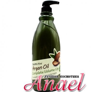 Farm Stay Шампунь-кондиционер с маслом арганы для объема волос Argan Oil Complete Volume Up 2 &1 Shampoo & Conditioner (1 л)