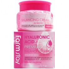 Farm Stay Балансирующий крем премиум-класса с гиалуроновой кислотой Hyaluronic Acid Premium Balancing Cream (100 гр)