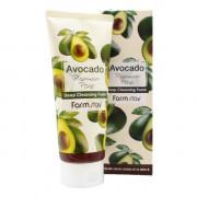 Farm Stay Пенка премиум-класса для глубокой очистки пор «Авокадо» Avocado Premium Pore Deep Cleansing Foam (180 мл)