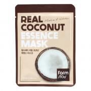 Farm Stay Тканевая маска с экстрактом кокоса «Увлажнение и питание» Real Coconut Essence Mask Moisture & Nutrition (1 шт х 23 мл)