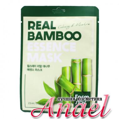 Farm Stay Успокаивающая увлажняющая тканевая маска «Бамбук» Real Bamboo Essence Mask Calming & Moisture (1 шт. х 23 мл)