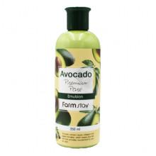 Farm Stay Эмульсия премиум-класса для лица и пор «Авокадо» Avocado Premium Pore Emulsion (350 мл)