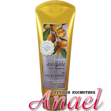 Welcos Маска для волос с аргановым маслом и золотом Confume Argan Gold Treatment (200 гр)